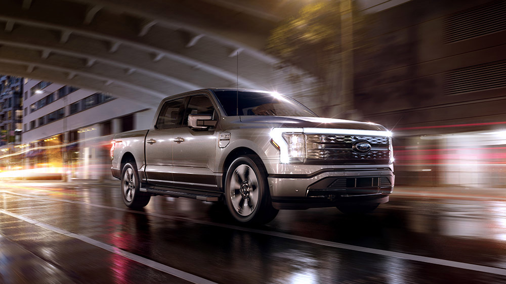 Ford Unveils Their F-150 Lightning Electric Pickup Truck