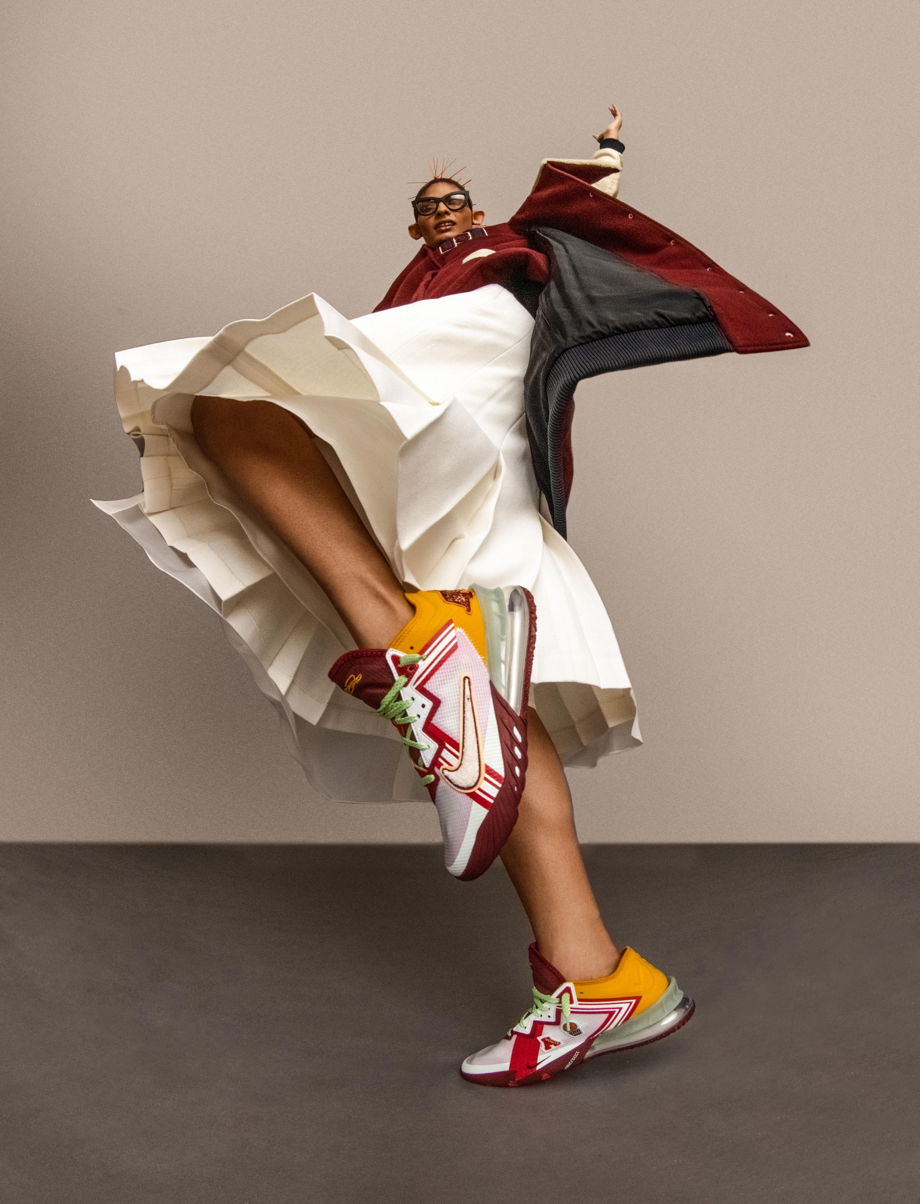 LeBron James Partners with Designer Mimi Plange for Nike LeBron 18 Low