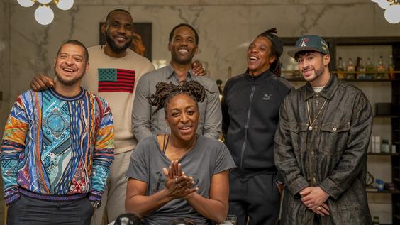 JAY-Z, Bad Bunny, & Nneka Ogwumike Help LeBron James Kick Off HBO's 'The Shop: Uninterrupted's 4th Season