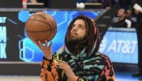 Celebrities Attend The 2019 NBA All-Star Saturday Night