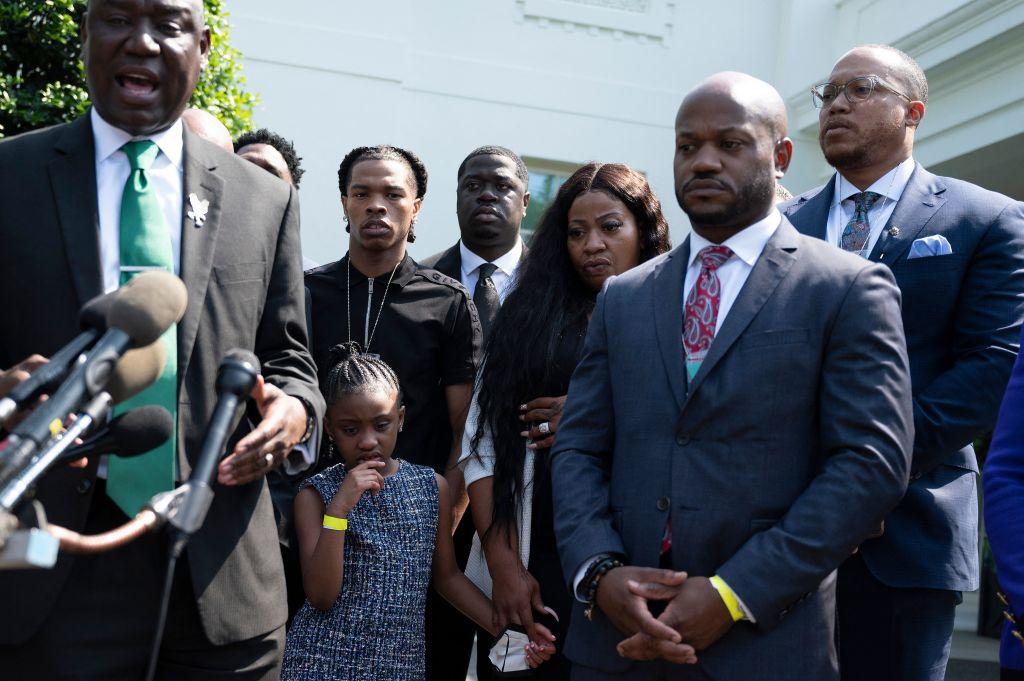 George Floyd's Family Met With President Biden & Members Of Congress
