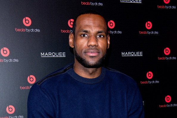 LeBron James Photographed Wearing Beats Unannounced Wireless Earbuds