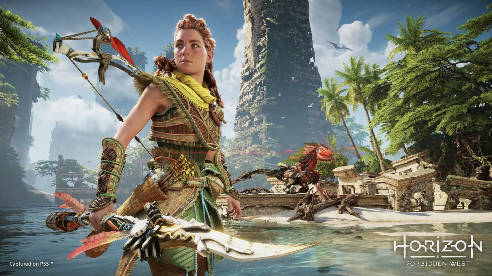 HHW Gaming: Aloy Is Back & Shows Off New Skills In 14-Minutes of 'Horizon Forbidden West' Gameplay Footage