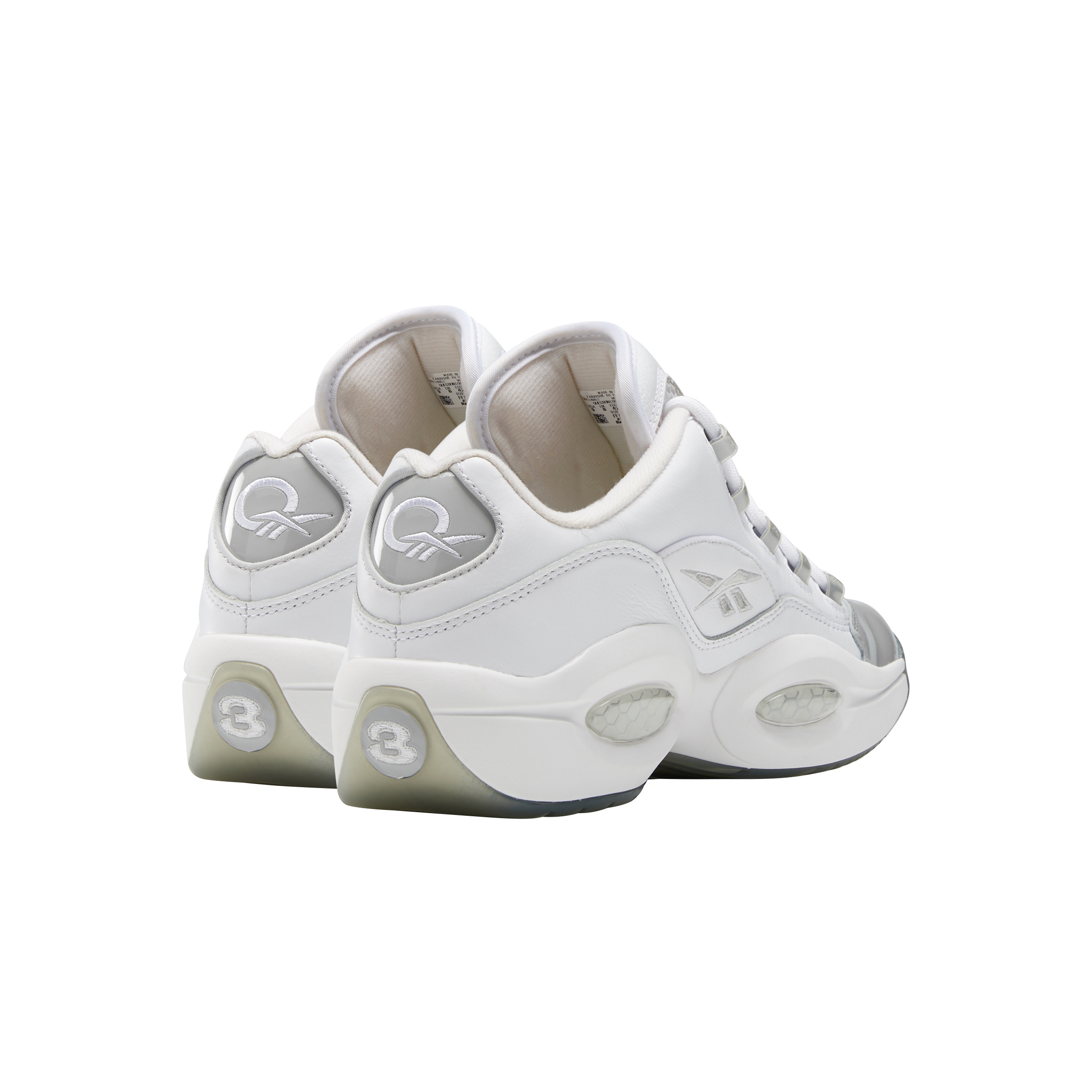 """Allen Iverson's Classic Reebok Question Low """"Grey Toe"""" Returns For The Summer"""