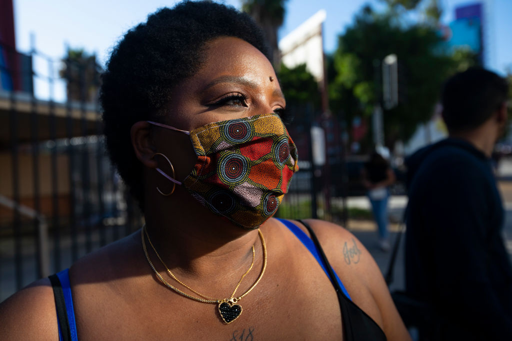 Patrisse Cullors is one of the three co-founders of the Black Lives Matter movement. She participated in the peaceful march in Hollywood, CA today Sunday June 7, 2020. Thousands of people participated in todays peaceful protest against police sparked b...