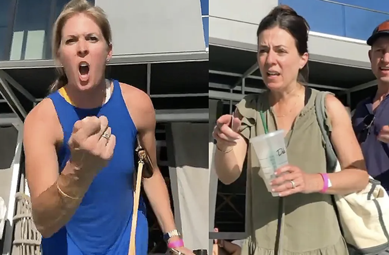 Homophobic Karens Get Shouted Out and Shamed From Hotel Pool