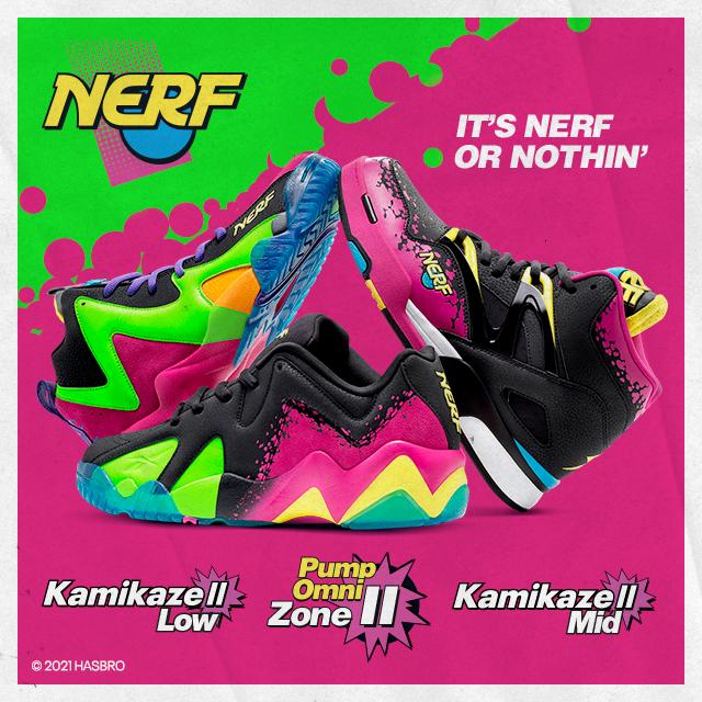 Reebok x Nerf