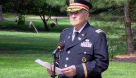 Retired Army Lt. Col. Barnard Kemter