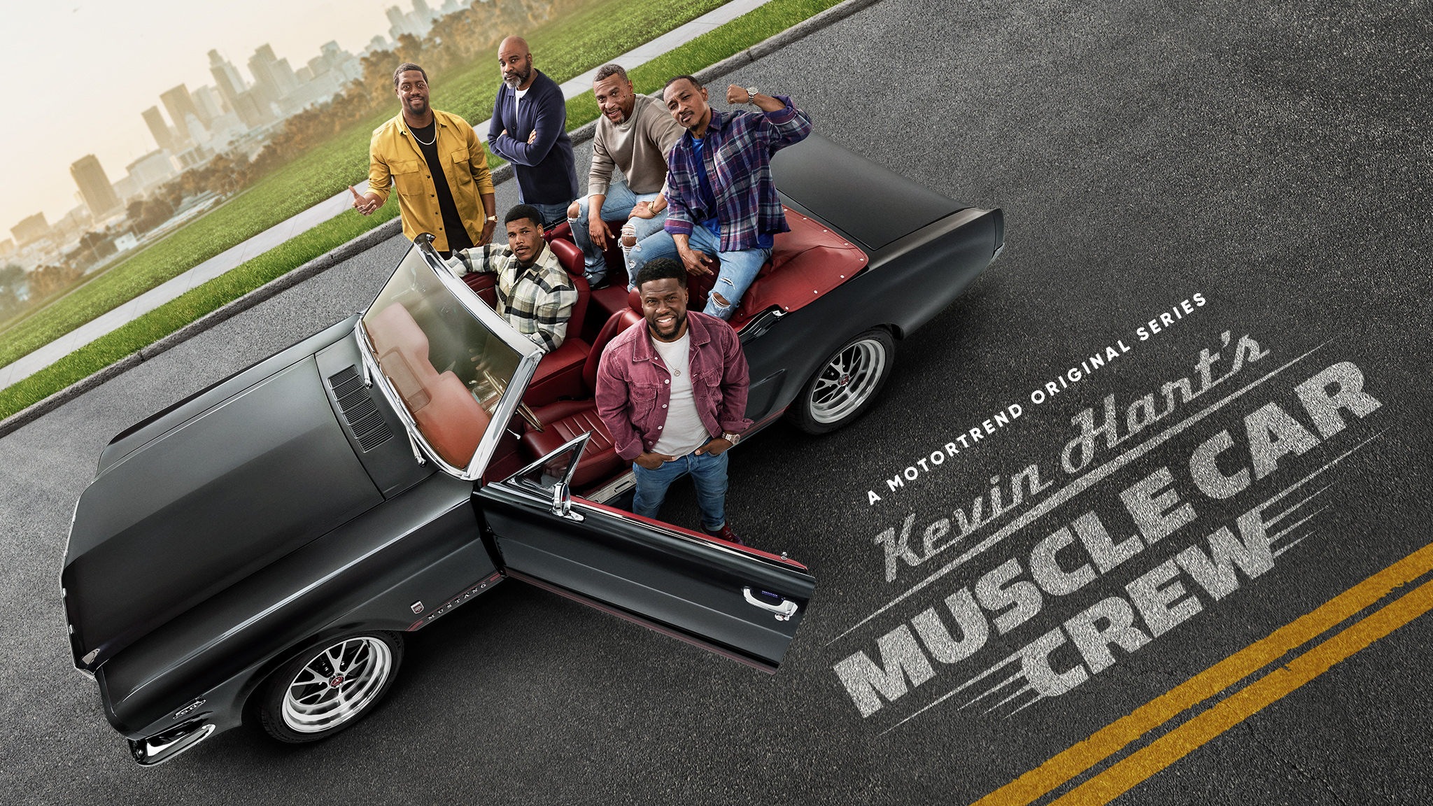 The Plastic Boys Restore Classic Cars In MotorTrend Series 'Kevin Hart's Muscle Car Crew'