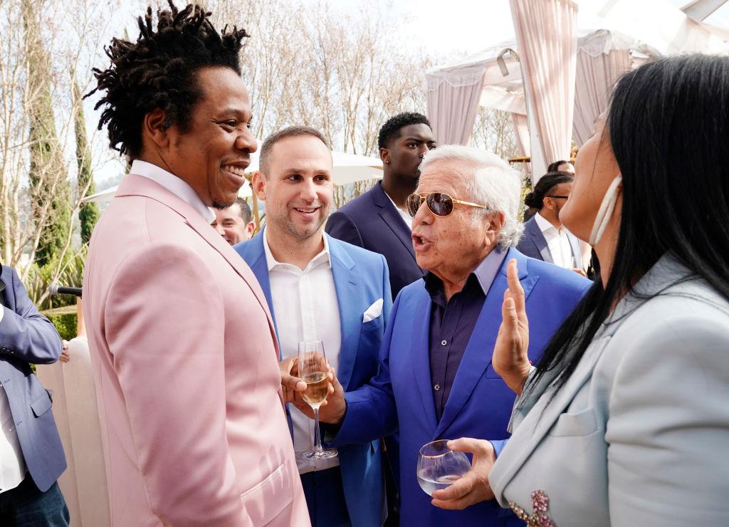 #MustBeNice: Jay-Z And Meek Mill Gift Robert Kraft Bentley Rolls Royce For Birthday
