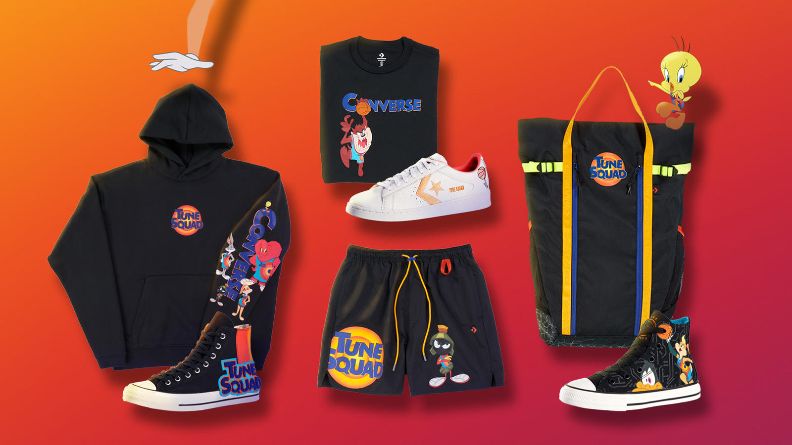 Nike Debuts Their 'Space Jam' Collection, New LeBron 19 [Photos]