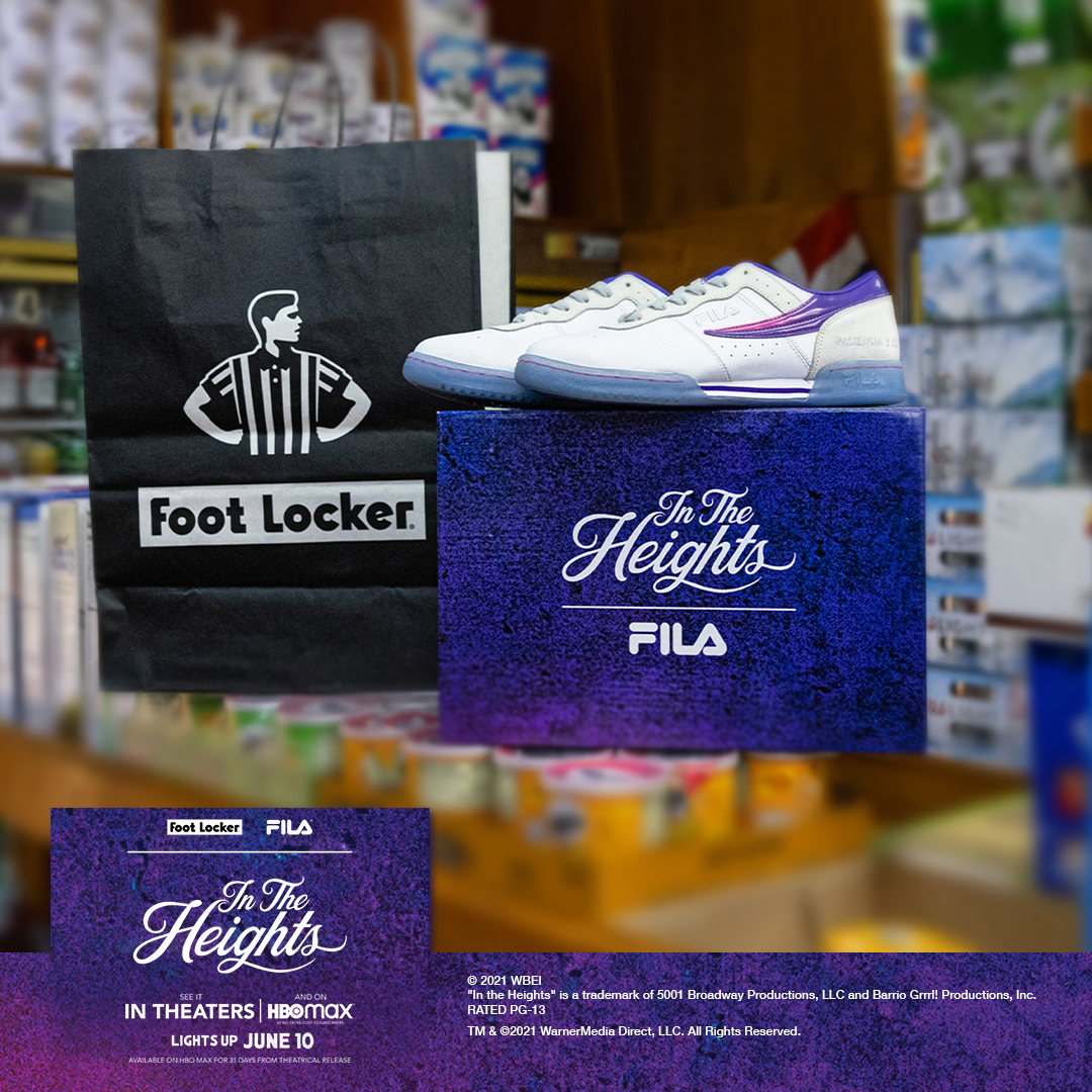 Foot Locker & FILA Team Up For Exclusive 'In The Heights' Kicks