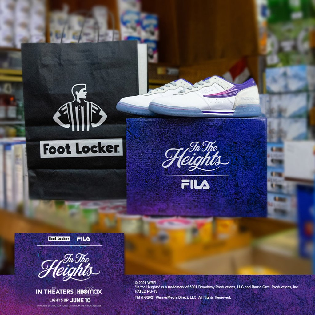 Foot Locker & FILA 'In The Heights'