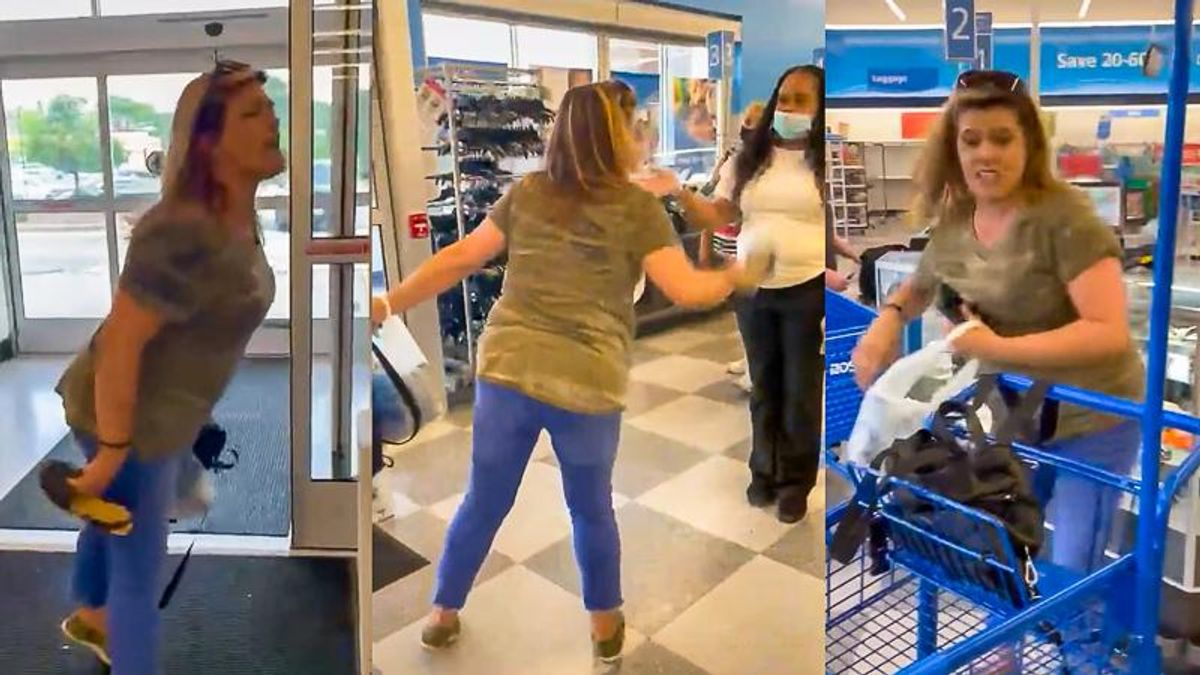 No Sale: Koo-Koo Karen Booted From Ross Store After Racist Tirade
