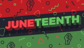 Juneteenth Abstract Background