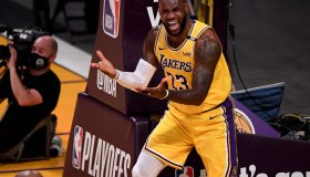 Phoenix Suns defeated the Los Angeles Lakers 113-100 during game six of the Western Conference First Round NBA Playoff basketball game.