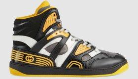 gucci basket sneakers