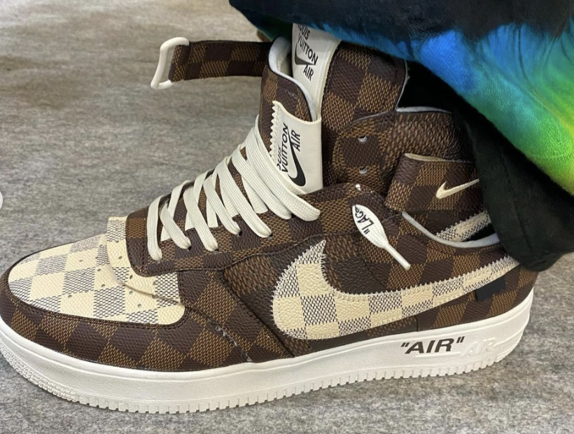 Virgil Abloh Finesses Louis Vuitton and Nike Air Force 1 Collab