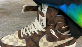 Louis Vuitton x Nike Air Force 1