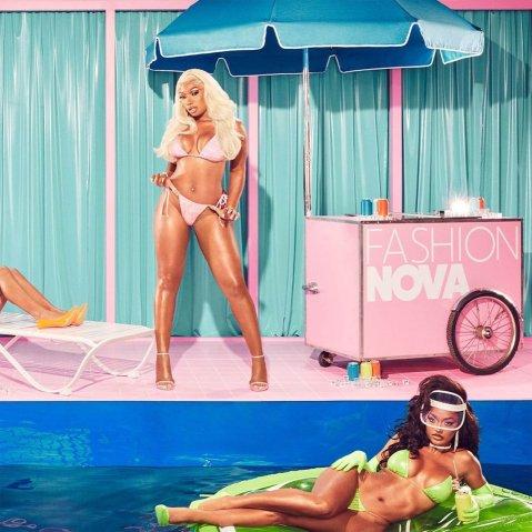 Megan Thee Stallion x Fashion Nova Bikini Line