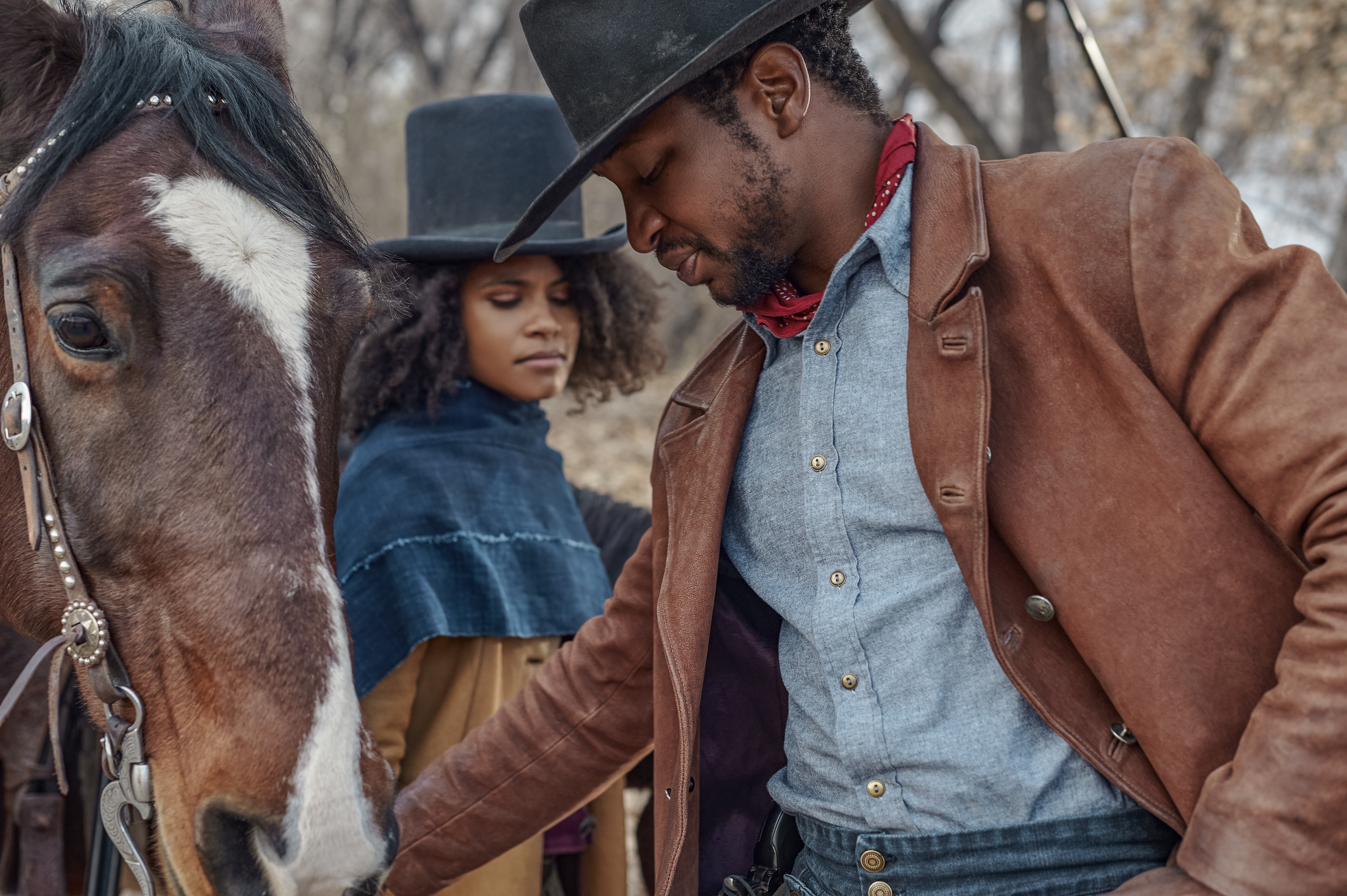Netflix Black Western 'The Harder They Fall' Is Lit, Peep Trailer & Photos