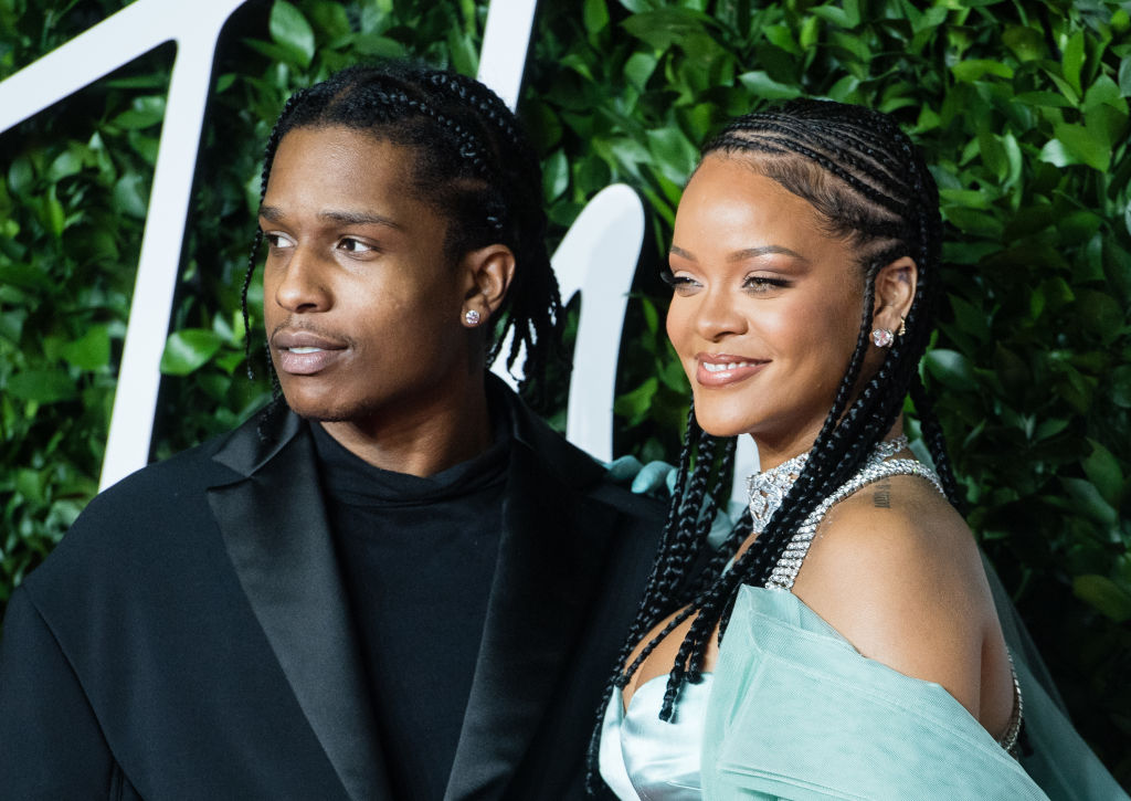 Rihanna & A$AP Rocky's PDA-Filled Date Night In New York City