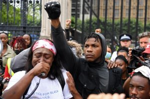 BRITAIN-US-POLITICS-RACE-PROTEST