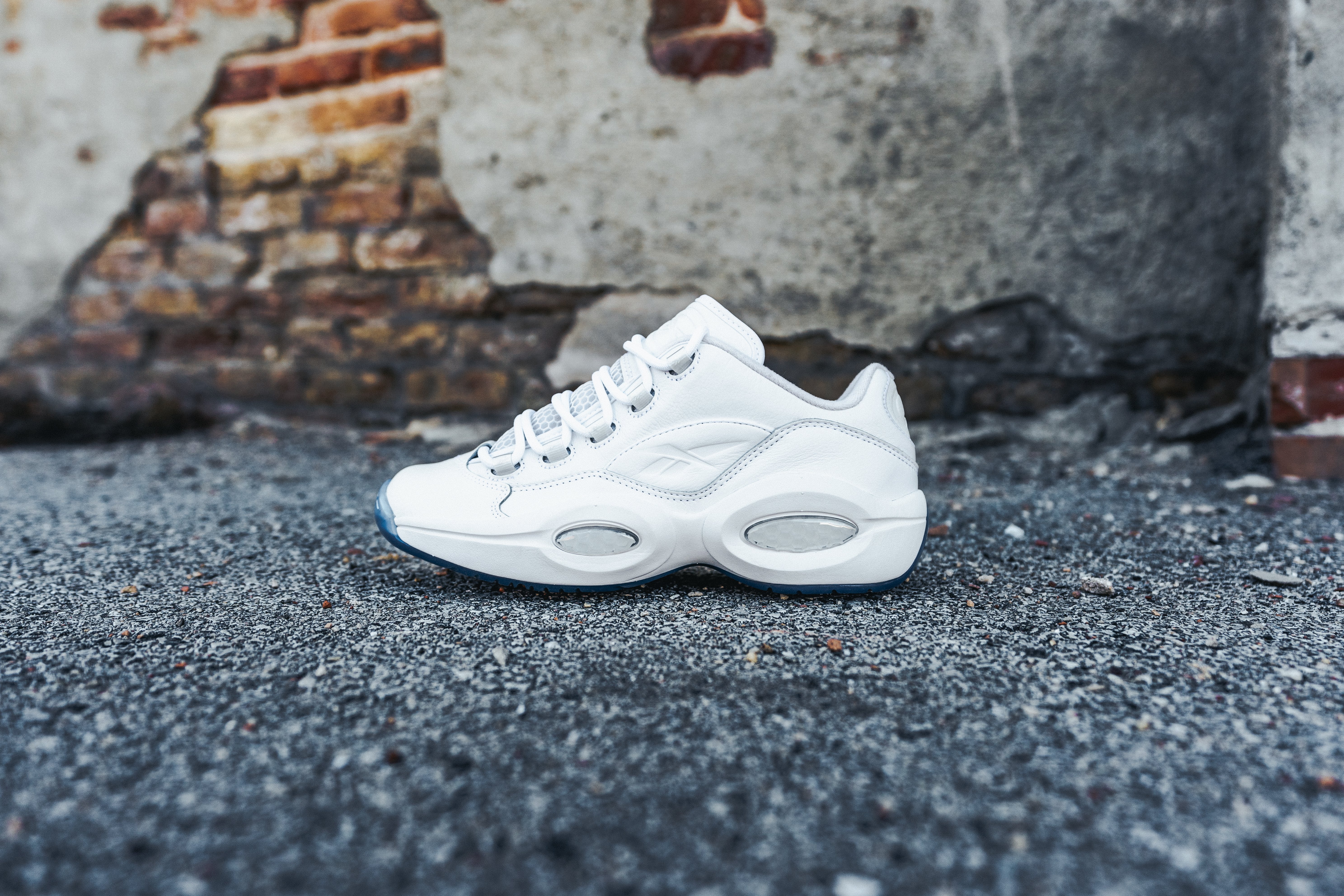 """Reebok To Drop All-White Question Low """"White Ice"""""""