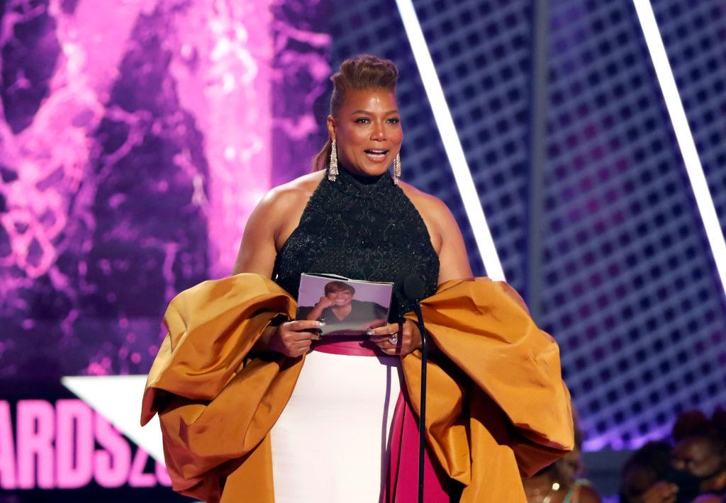 Queen Latifah Gives Moving BET 'Lifetime Achievement Award' Speech