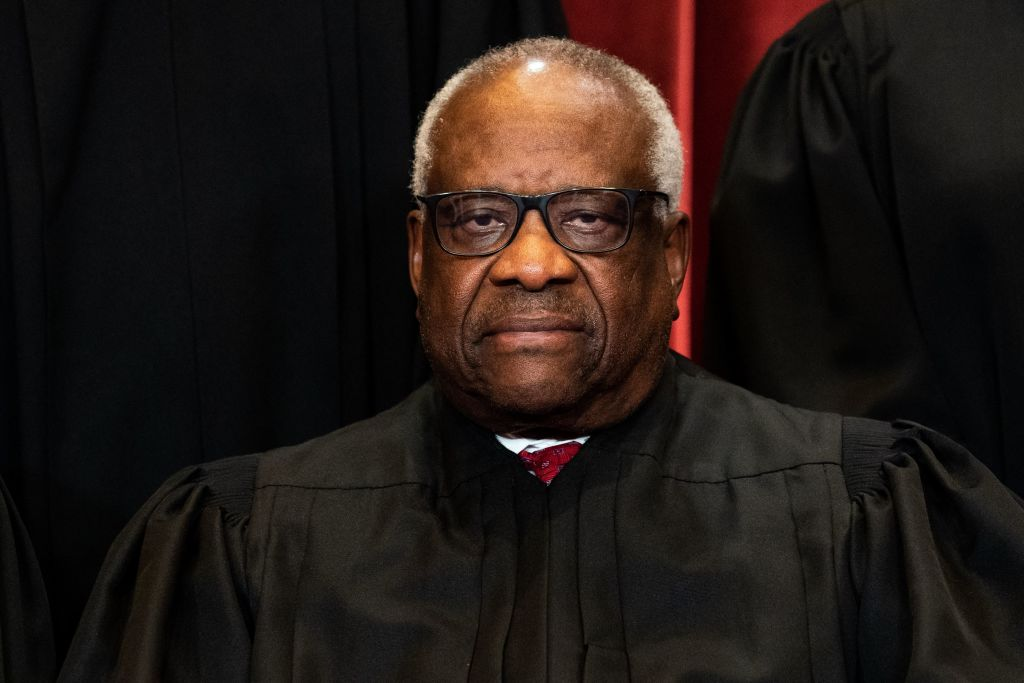 This Guy: Clarence Thomas Says Federal Laws Against Marijuana May Not Be Needed