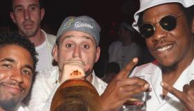 Michael Rubin and Jay-Z Hamptons party