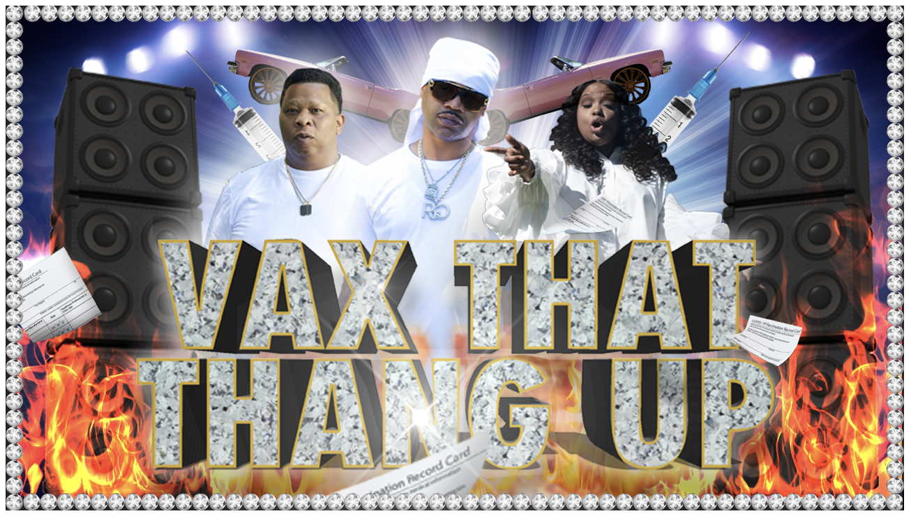"""Twitter Is Loving The New Vaccination Anthem """"Vax That Thang Up"""""""