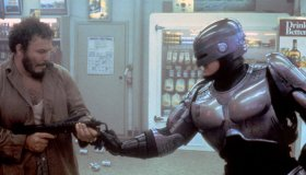 On the set of RoboCop