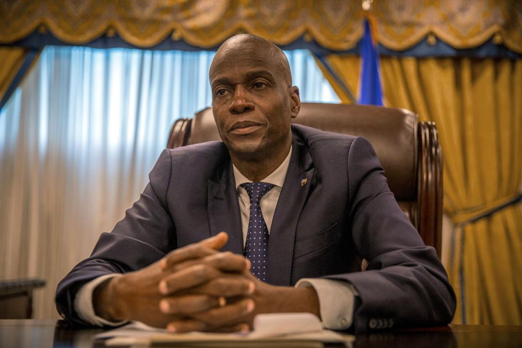 File: Haiti's President Jovenel Moise Assassinated