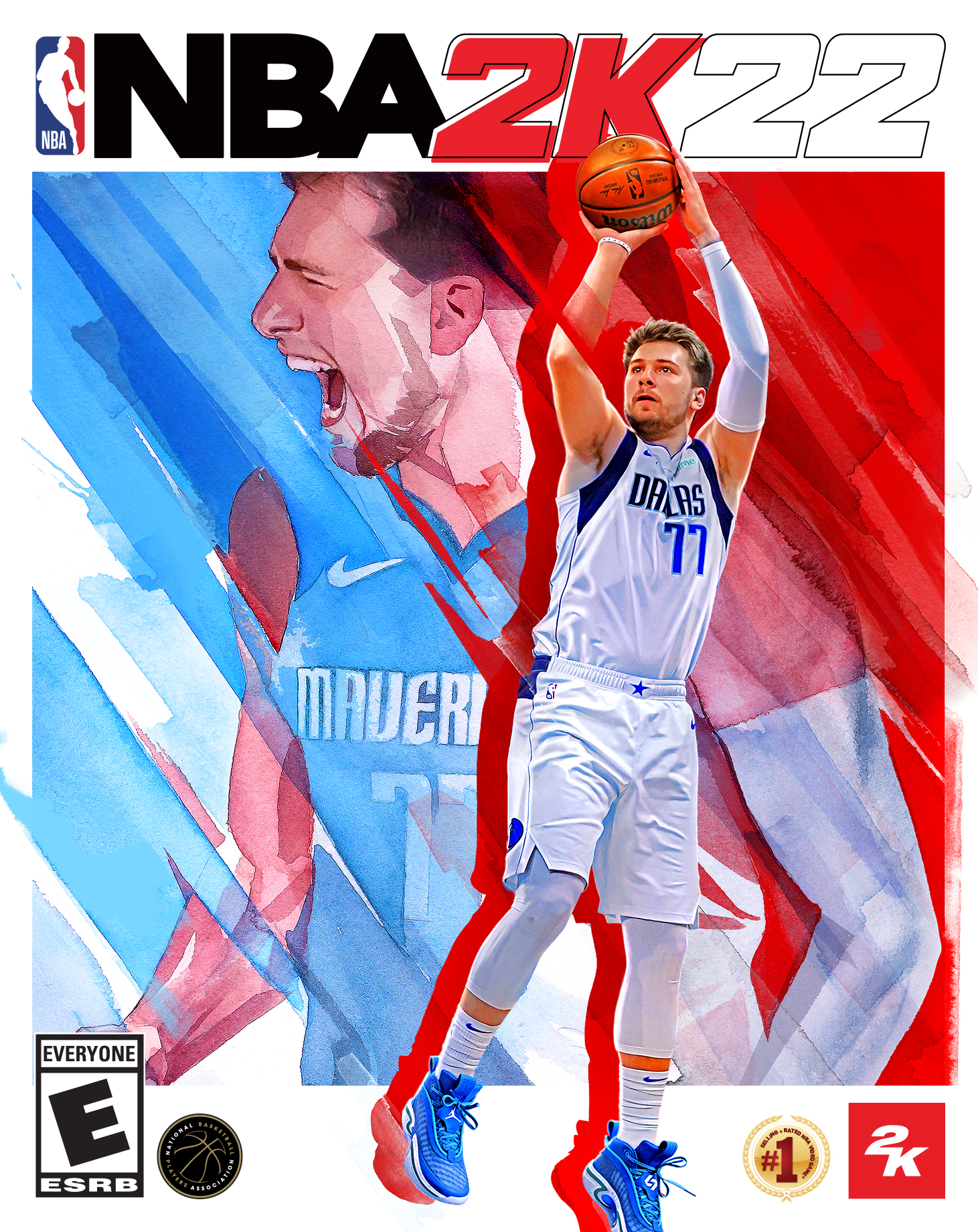 Luka Dončić , Candace Parker, Kevin Durant & More Share 'NBA 2K22's Cover