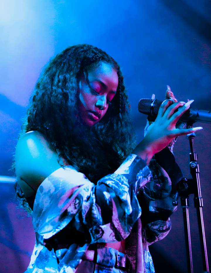 Samsung and Billboard Songs of the Summer Concert with Saweetie and Justine Skye