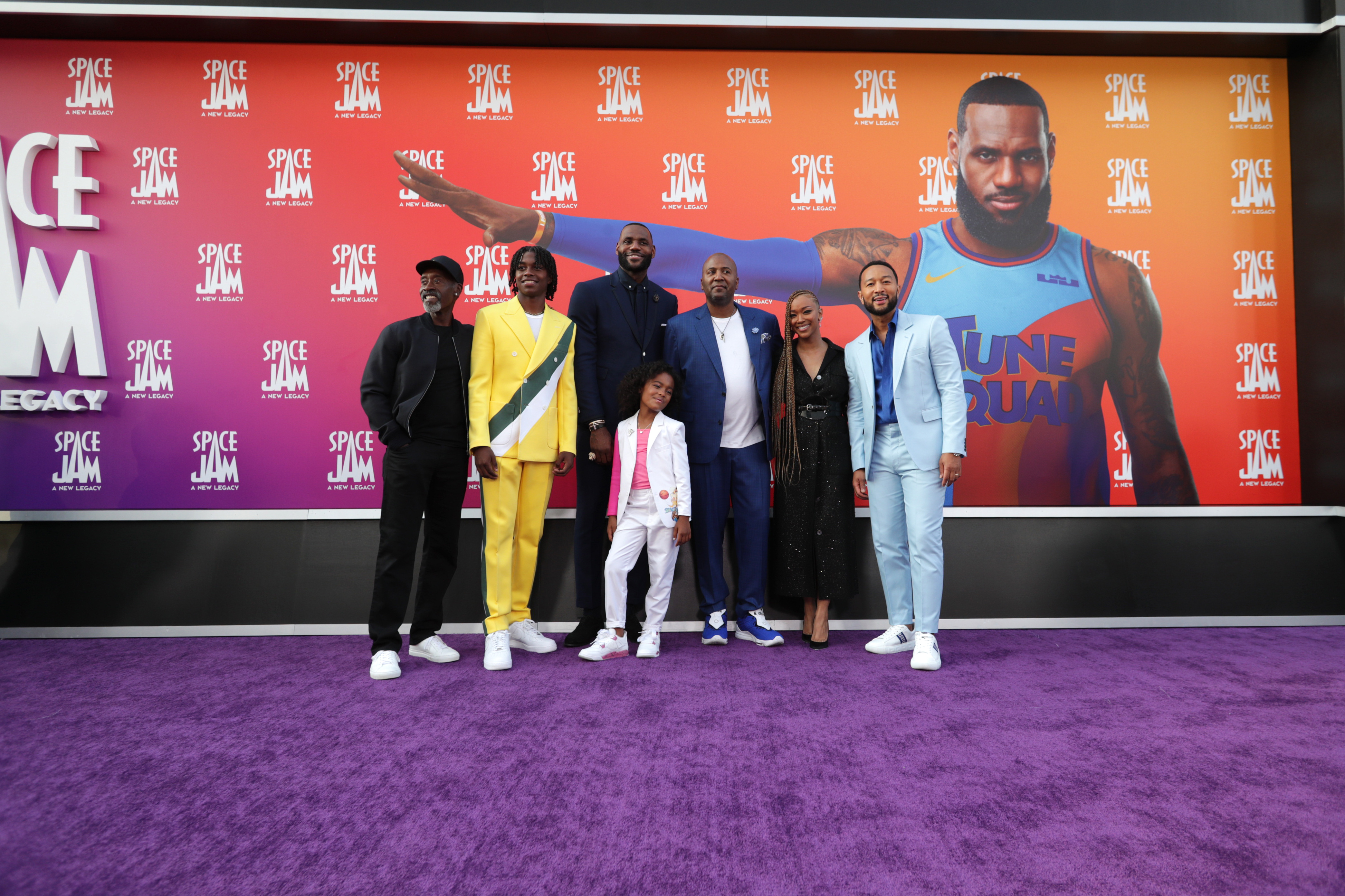 Space Jam: A New Legacy World Premiere
