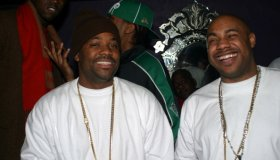 Kanye West and Young Gunz London Performance at Elysium