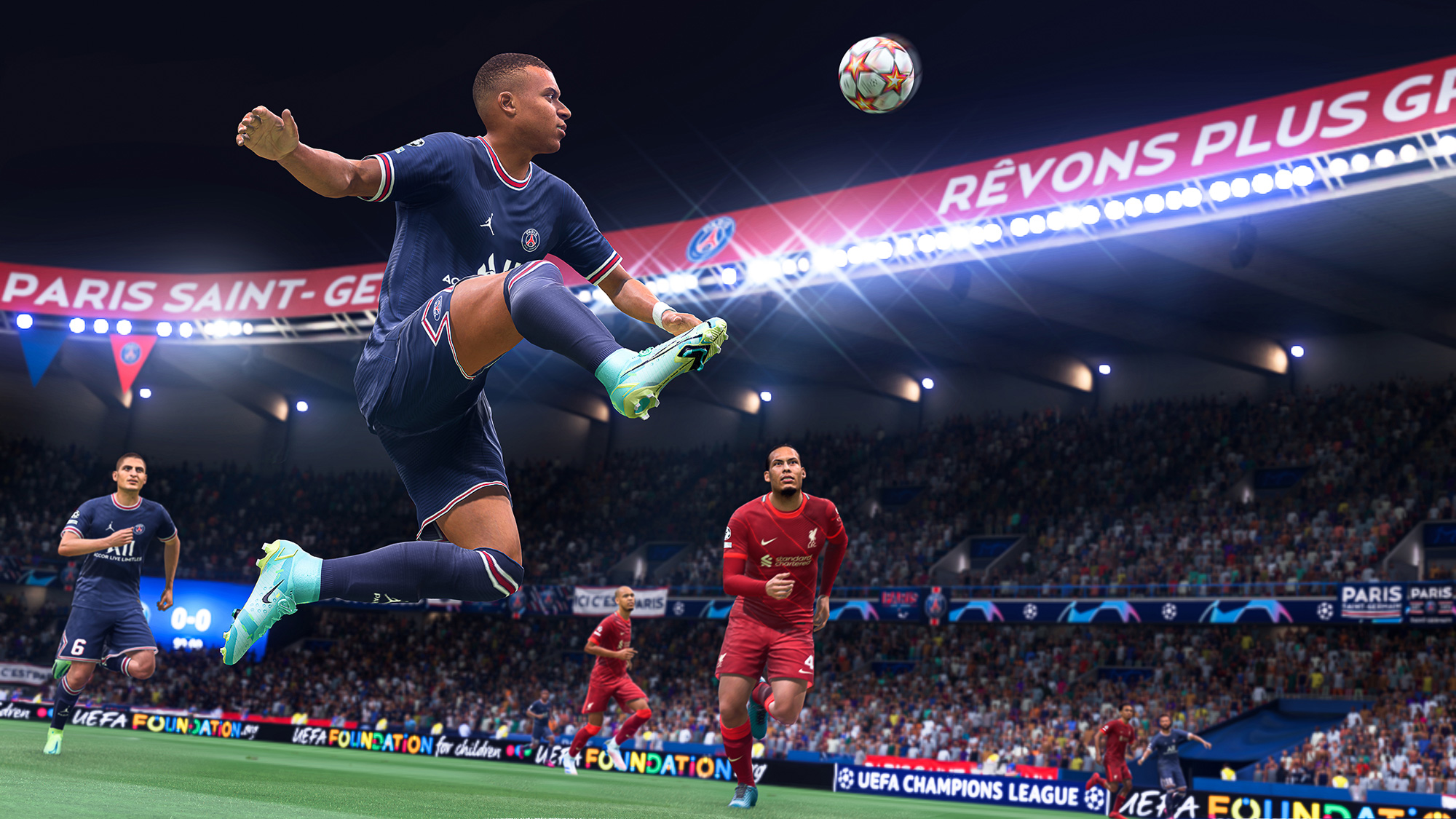 'FIFA 22's HyperMotion Technology Aims To Make The Game Feel Realistic