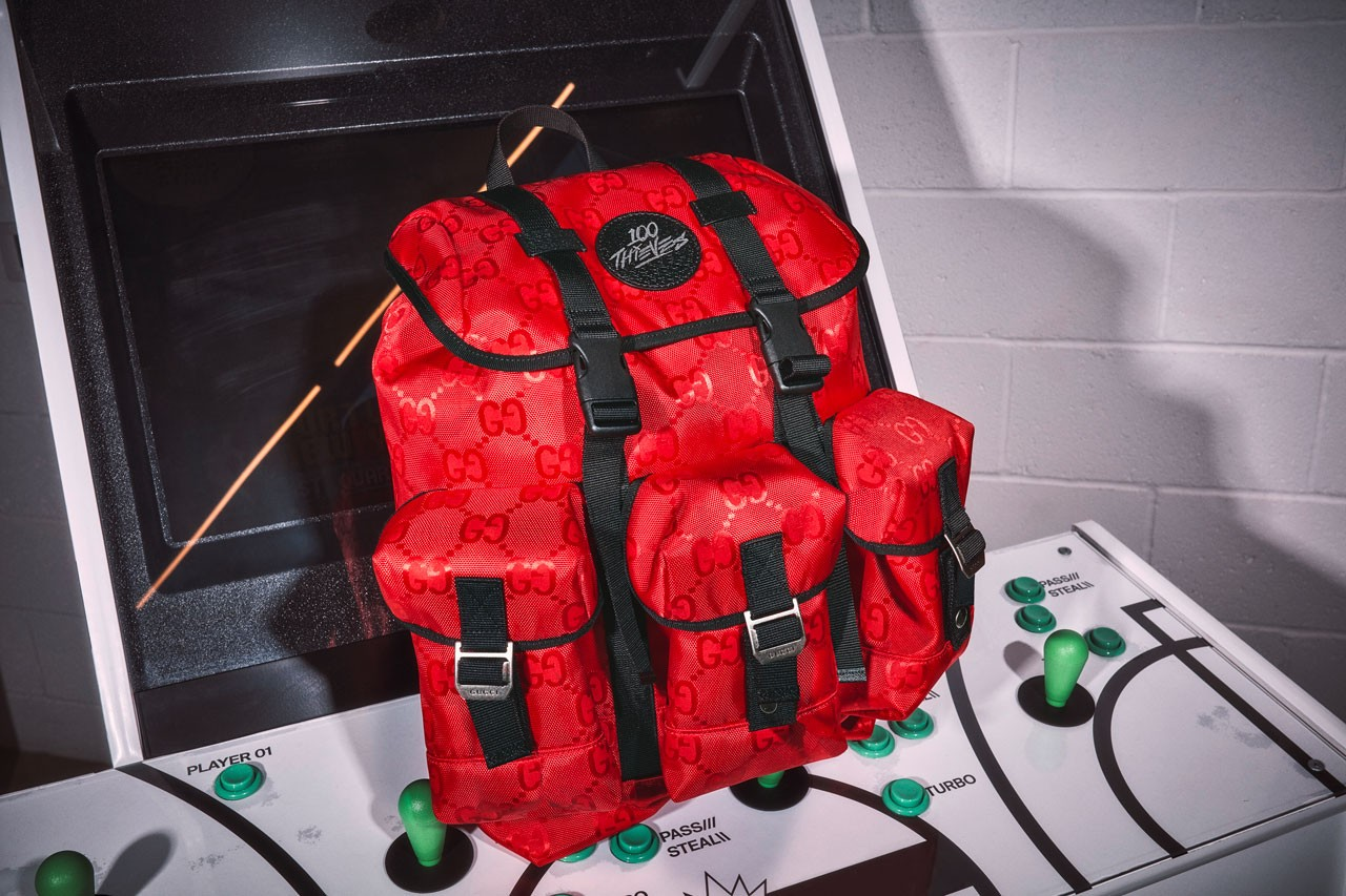 Feast Your Eyes On Gucci x 100 Thieves' $2,500 Limited Backpack