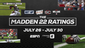 ESPN to Host Madden NFL 22 Ratings Week July 25 to 30