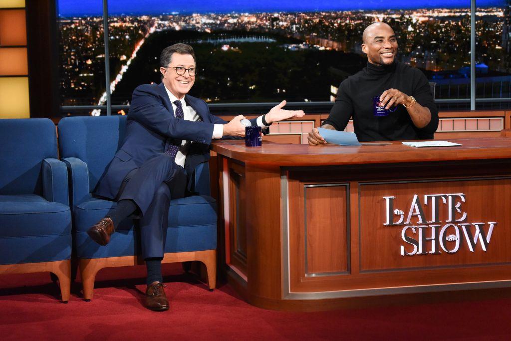 Charlamagne The God & Stephen Colbert