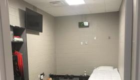 Kanye West stadium room