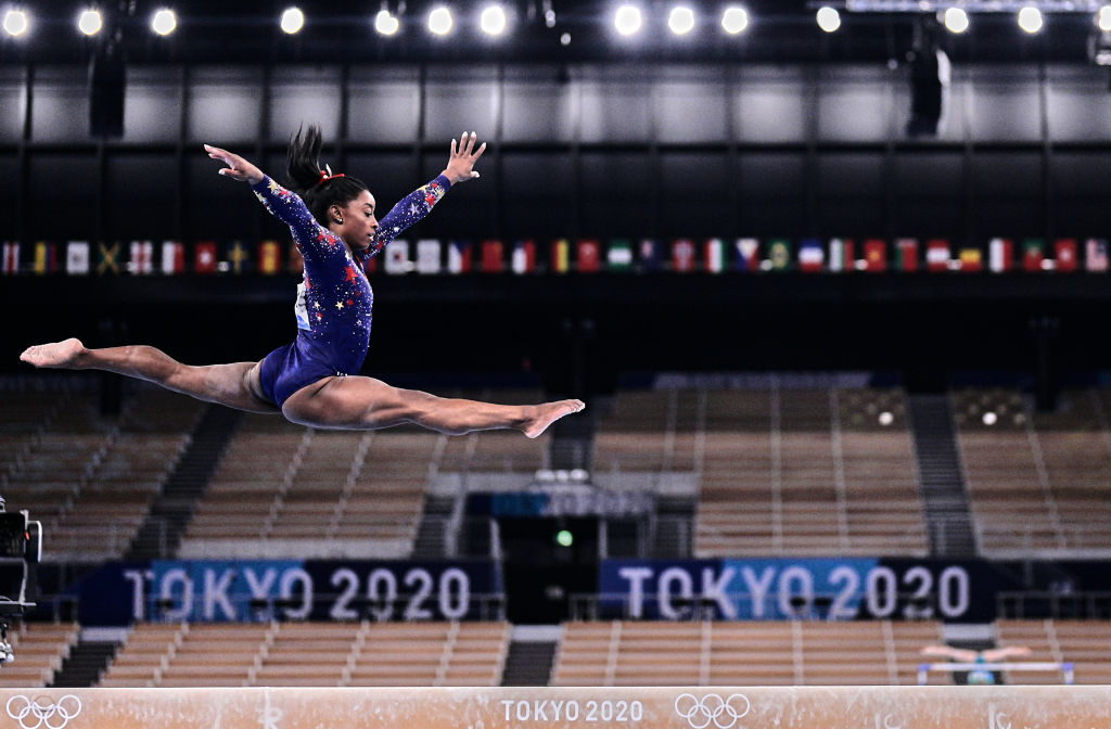 Still The GOAT: Simone Biles Will Not Participate In Individual All-Around Gymnastics Final #SimoneBiles