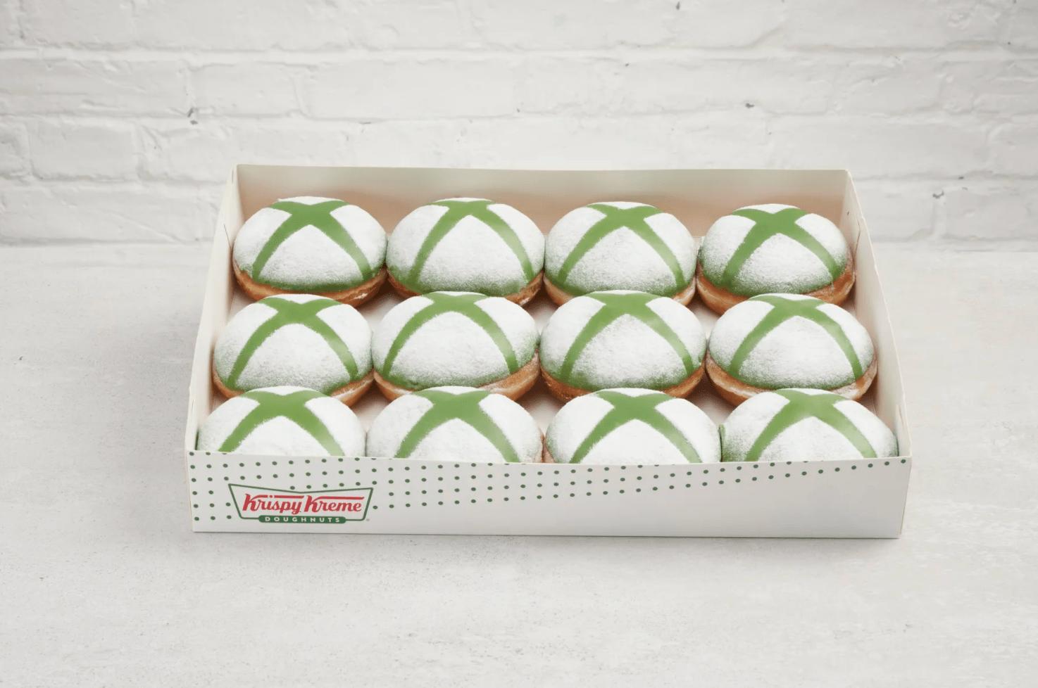 Krispy Kreme Teams Up With Microsoft For Xbox-Themed Doughnut