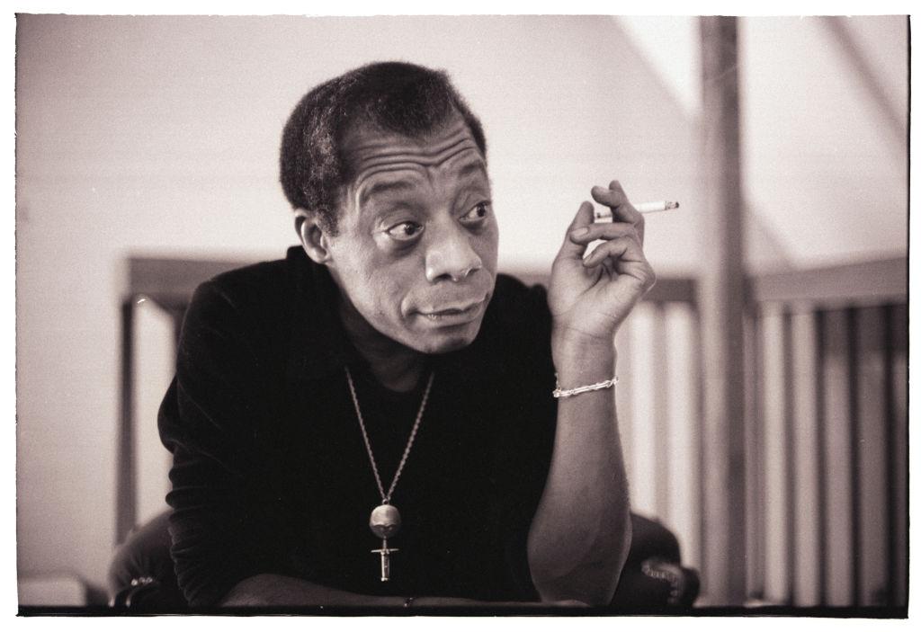Writer James Baldwin