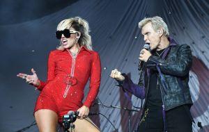 2021 Lollapalooza - Day 1 - Miley Cyrus