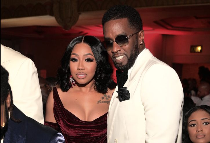 Yung Miami Posts & Deletes of Herself Sitting On Diddy's Lap