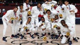 Australia v Slovenia Men's Basketball - Olympics: Day 15