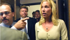 Kim Mathers Appears In Court
